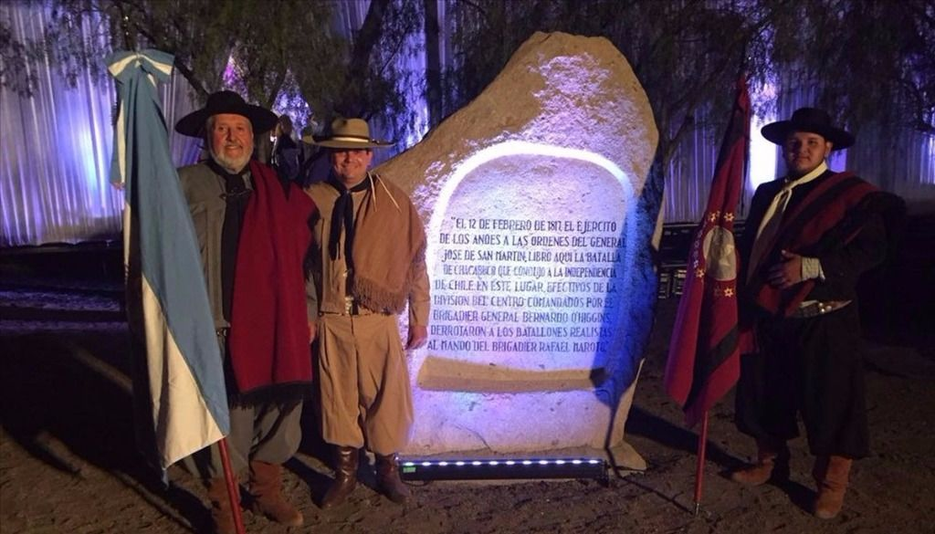 Gauchos rosarinos recordaron la batalla de Chacabuco