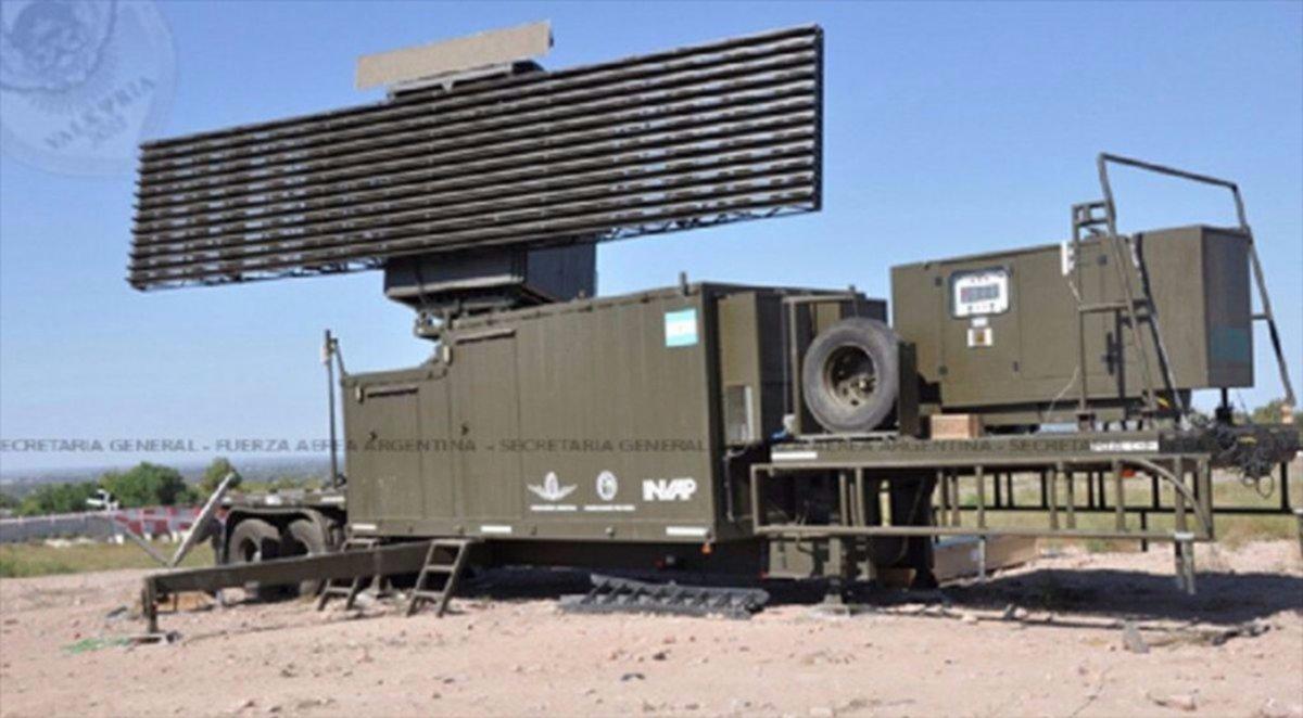 El radar de control del espacio  aéreo del norte funciona a pleno