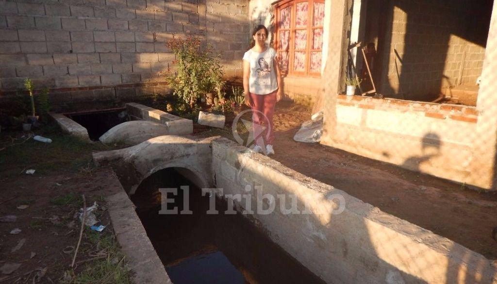 Los vecinos piden obras para evitar inundaciones