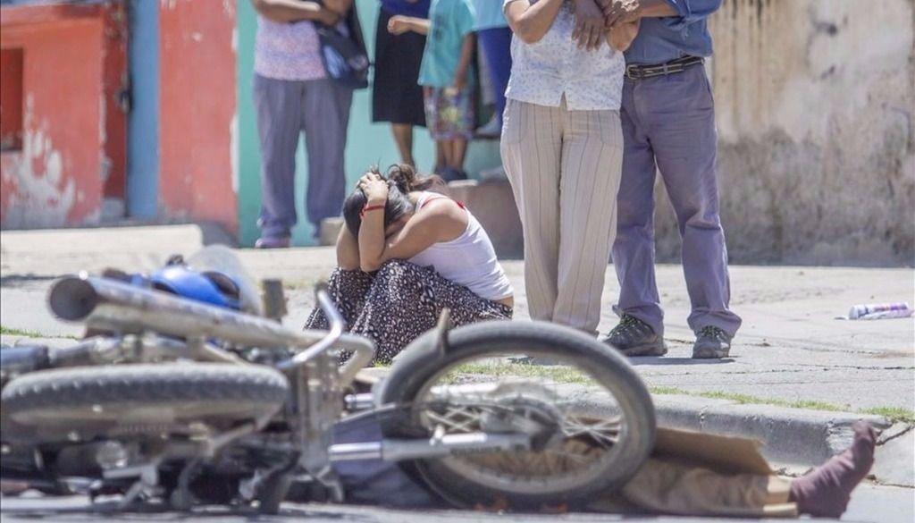 Accidentes fatales: la  mitad son  motociclistas