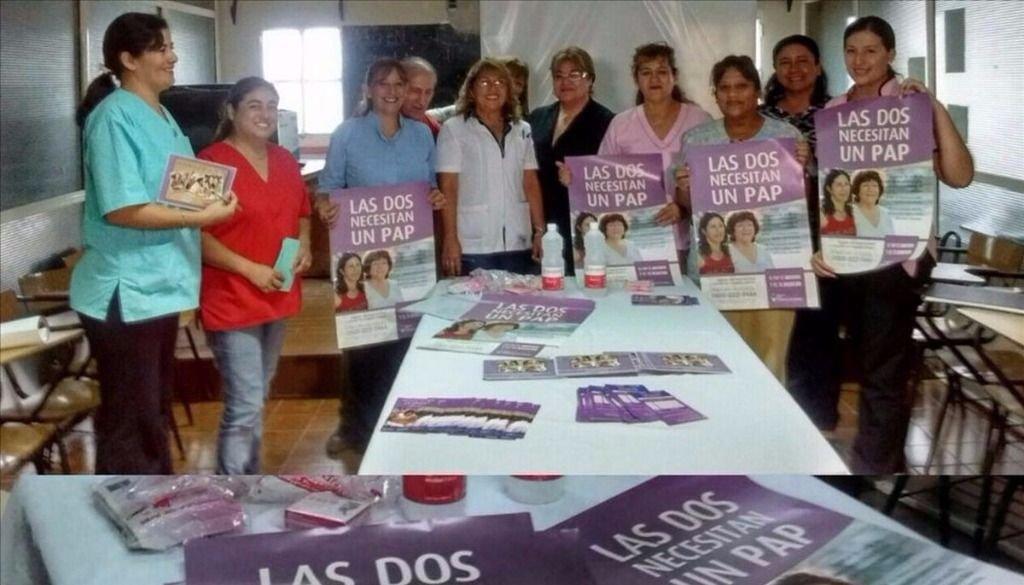 Campaña preventiva contra el cáncer de cuello uterino