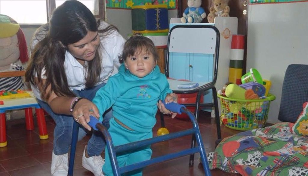 Atención en  estimulación  temprana  para niños