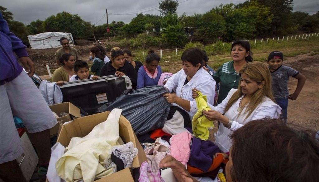 Llegó la ayuda a Las Lajitas, pero no es suficiente ante el desastre