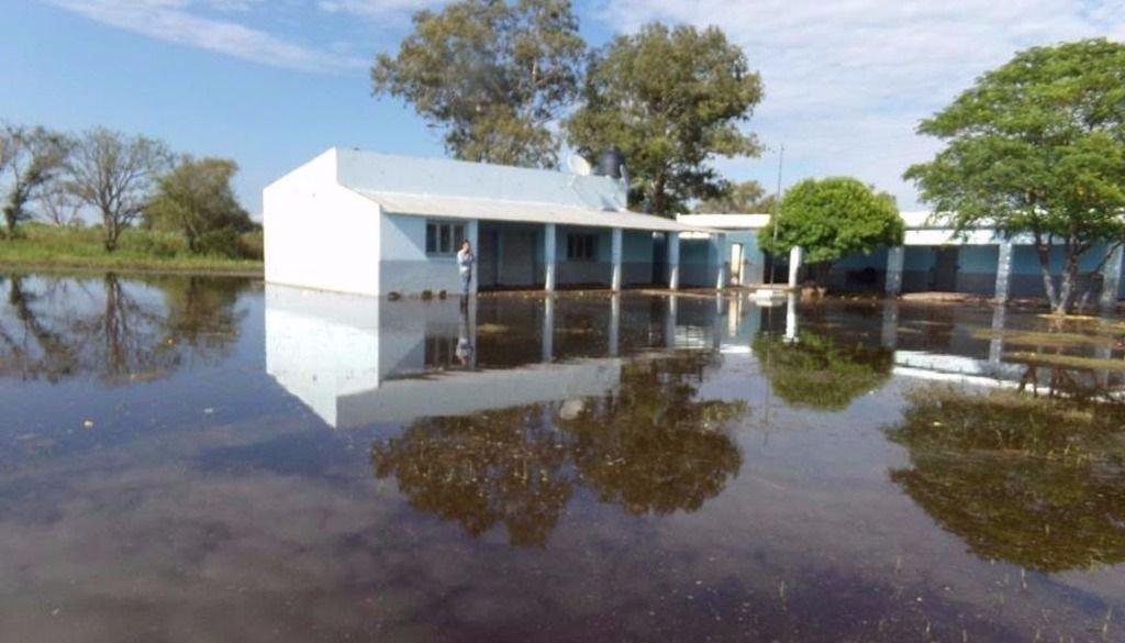 La lluvia causó estragos en  las zonas rurales del pueblo
