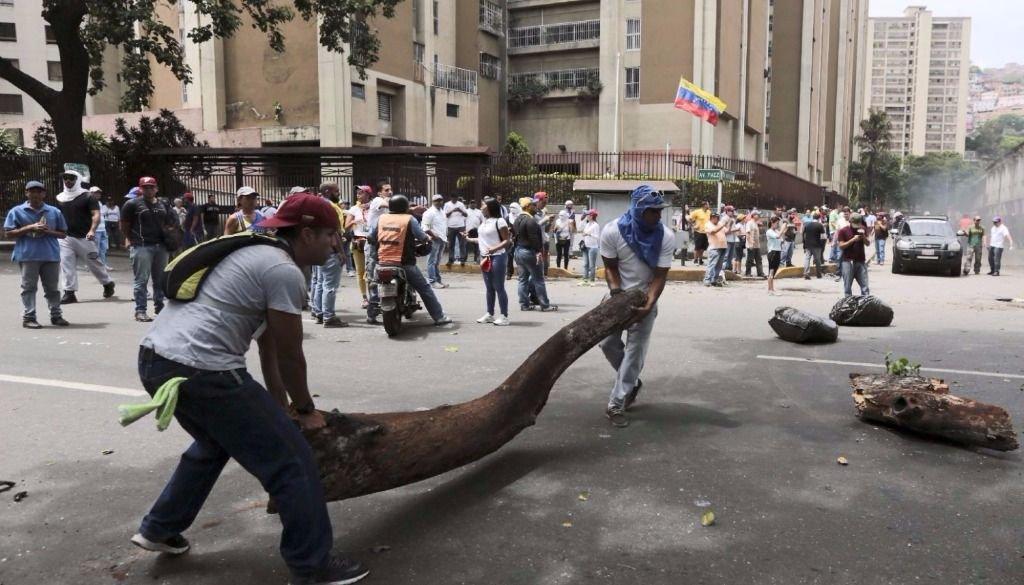 Murió un joven en la marcha opositora en Venezuela