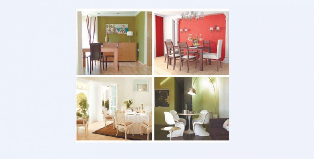 Colores para pintar un comedor moderno for Colores para pintar un apartamento moderno