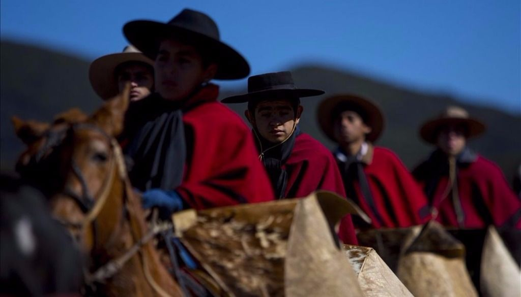 Cabalgata a  la Quebrada  de la  Horqueta