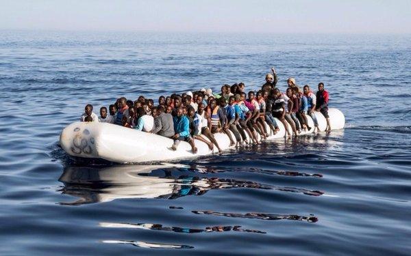 Cinco mil inmigrantes rescatados en estos días