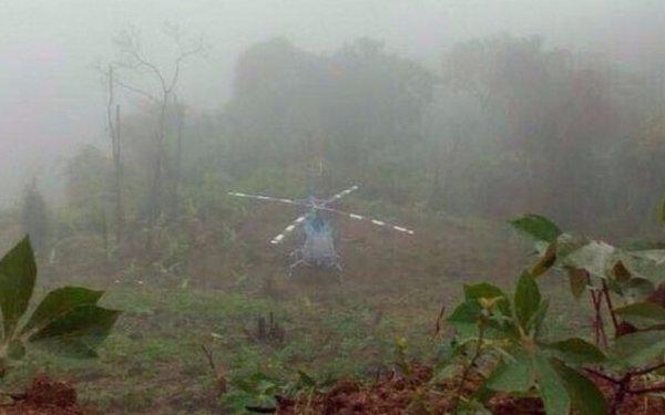 Localizaron el helicóptero usado para atacar edificios públicos en Venezuela