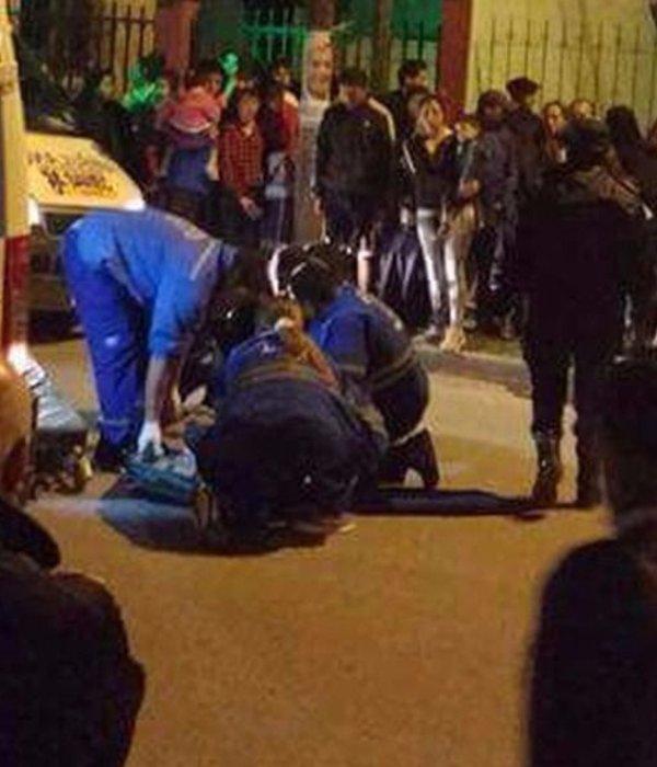 Tres heridos por un choque de motos en barrio Santa Cecilia