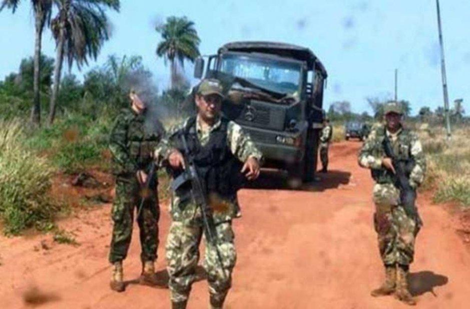 Resultado de imagen para un acto a los militares asesinados por EPP