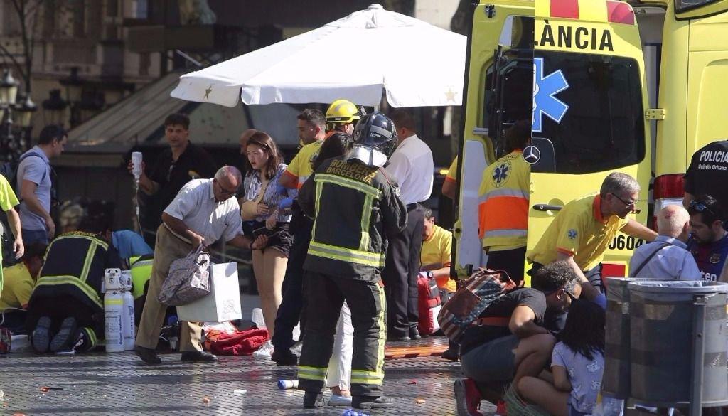 VIDEO desde Cambrils, donde tuvo lugar un segundo atentado terrorista