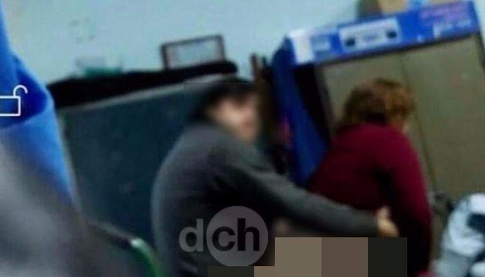 Un vicedirector se filmó teniendo sexo dentro de la escuela