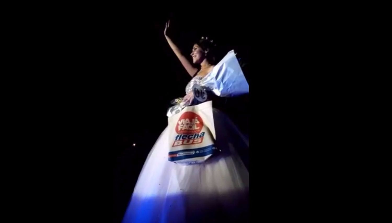 Rocío Faber se coronó la reina provincial de los estudiantes en Cafayate