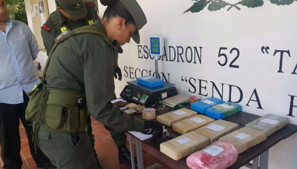 Decomisan más de 10 kilos de cocaína en Tartagal y hay un detenido
