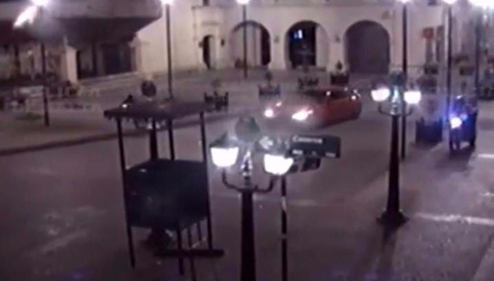 VIDEO: Jujeño alcoholizado causó pánico y pudo haber desatado una tragedia