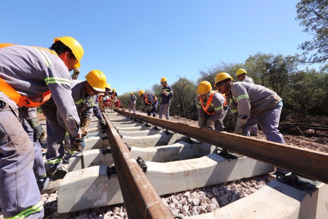 Comenzaron las obras de la etapa II en el Belgrano Cargas