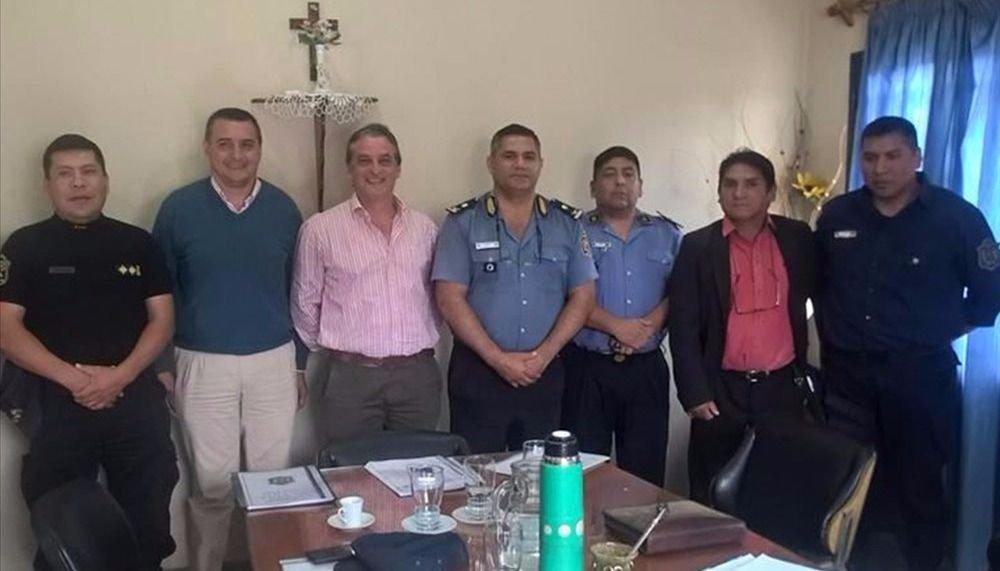 Concejales y policías se reunieron por las quejas de seguridad
