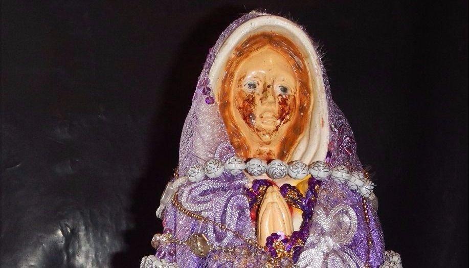 Siguen los misterios entorno a la Virgen que llora
