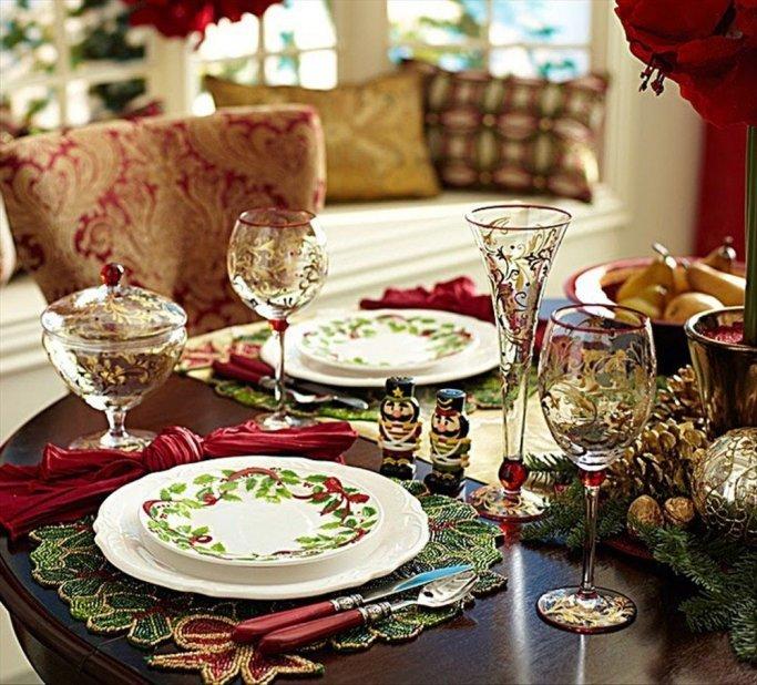 Mesas delicadas en fin de a o for Mesa de fin de ano